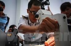 Cận cảnh lô vải thiều xuất khẩu lần đầu tiên được chiếu xạ tại Hà Nội