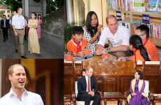 [Photo] 48 giờ của Hoàng tử Anh William tại Hà Nội