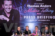 Thomas Anders: Âm nhạc của Modern Talking vẫn còn hợp thời