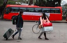 Gần 1.500 sinh viên háo hức với chuyến xe miễn phí về quê ăn Tết