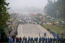 Giỗ tổ tại Đền Hùng bất ngờ vắng vẻ trong ngày khai hội