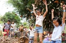 """Hàng ngàn em nhỏ """"quậy"""" tưng bừng trong ngày hội sáng tạo Ecoplay"""