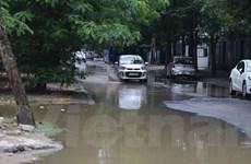 Ám ảnh đường biến thành sông tại khu đô thị mới giữa lòng Hà Nội