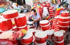 Trở về ngôi làng tuổi thơ, nơi giữ gìn đồ chơi trung thu truyền thống
