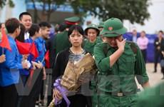 Hà Nội: Những hình ảnh xúc động tại lễ giao nhận quân 2018