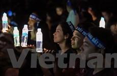 Người dân Hà Nội đồng loạt tắt đèn hưởng ứng Giờ Trái đất 2018
