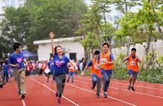 Những khoảnh khắc đáng nhớ trong ngày hội thể thao dành cho trẻ tự kỷ