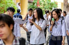 Thí sinh thi THPT Quốc gia phấn khởi vì bài thi Ngữ văn vừa sức