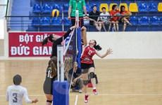 Sôi nổi màn so tài của các đội bóng chuyền nữ Việt Nam và Hoa Kỳ