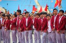 Toàn cảnh lễ vinh danh tuyển Olympic và đoàn thể thao Việt Nam
