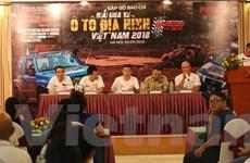 80 đội sẽ tham dự giải đua xe ôtô địa hình VOC 2018