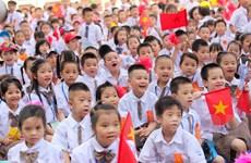 [Video] Ngôi trường có lượng học sinh lớp 1 đông kỷ lục của Hà Nội