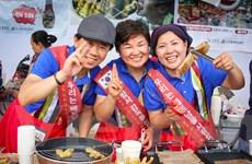 Khám phá những món ăn lạ mắt ngon miệng tại lễ hội ẩm thực Hàn-Việt