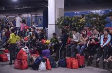 1.200 công nhân khó khăn nhận vé tàu miễn phí về quê ăn Tết