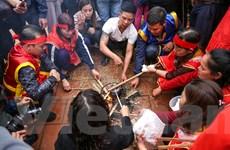 [Video] Lễ hội thổi lửa nấu cơm thi ở làng Thị Cấm