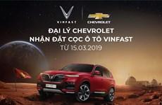 VinFast chính thức bán ôtô tại các đại lý Chevrolet kể từ 15/3