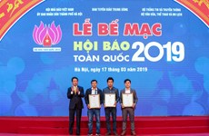 VietnamPlus giành hai giải thưởng tại Lễ Bế mạc Hội báo toàn quốc 2019