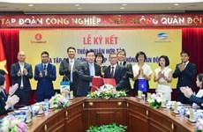 VinGroup 'bắt tay' Viettel triển khai cung cấp các dịch vụ tiện ích