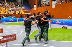 Sinh viên Học viện Kỹ thuật Quân sự lần thứ 2 vô địch Cuộc đua số