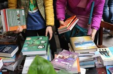 Đại sứ quán Pháp tổ chức thu gom sách cũ ủng hộ trẻ em khó khăn