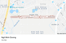 Sự thật về con đường mới mở Ngô Minh Dương tại Hà Nội