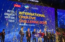 Đội Việt Nam giành giải Nhất thi giải pháp sáng tạo toàn cầu Viettel