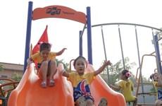 Trẻ em Việt có thêm sân chơi miễn phí từ quỹ chiến dịch FoxSteps