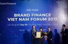 Viettel tiếp tục dẫn đầu Top 10 thương hiệu giá trị nhất Việt Nam