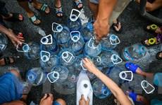 Hà Nội cảnh báo người dân không dùng nước Viwasupco để nấu ăn