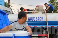 Chi tiết các điểm cấp nước sạch miễn phí tại Hà Nội sau sự cố sông Đà