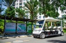 FPT tuyên bố thử nghiệm thành công xe tự hành trong khu Ecopark