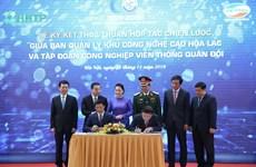 Viettel sẽ xây tổ hợp sản xuất công nghiệp công nghệ cao tại Hòa Lạc