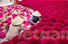 Rực rỡ làng nghề làm hương và tăm hương Quảng Phú Cầu