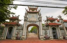 [Photo] Toàn cảnh ngôi chùa Trích Sài ven bờ Hồ Tây