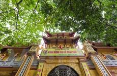 [Photo]Toàn cảnh ngôi chùa Võng Thị từ thời Lý bên Hồ Tây