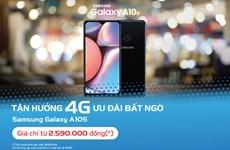 MobiFone tung khuyến mại cho khách hàng mua Samsung Galaxy A10s