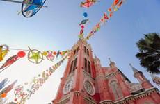 Nhà thờ tại TP. Hồ Chí Minh trang hoàng lộng lẫy trước đêm Giáng sinh