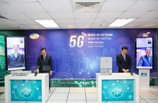 Viettel thực hiện cuộc gọi 5G đầu tiên trên thiết bị Make in Vietnam