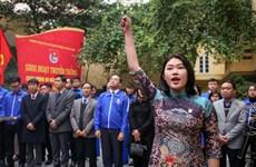 Đảng viên trẻ: Những lời thề bừng cháy sức thanh xuân
