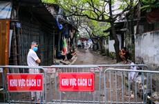 [Photo] Khu vực cách ly ca nghi nhiễm COVID-19 mới tại Hà Nội