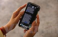 Nhà mạng phát thông báo khuyên người dân ở nhà trước mỗi cuộc gọi
