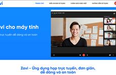 Ra mắt nền tảng hội nghị trực tuyến Zavi cạnh tranh trực tiếp với Zoom