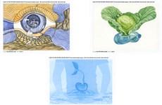 Xác định hai họa sĩ đoạt giải cuộc thi thiết kế Phiếu hồi đáp quốc tế