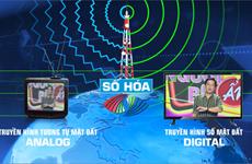 21 tỉnh thành chính thức ngừng phát sóng truyền hình tương tự mặt đất