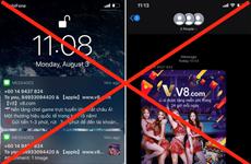 Người dùng iPhone 'kêu trời' vì bị quảng cáo cá cược liên tục spam
