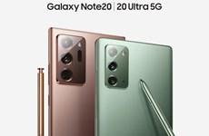 Samsung Galaxy Note20 ra mắt, giá bán cao nhất 32,99 triệu đồng
