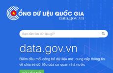Cổng dữ liệu quốc gia Data.gov.vn chính thức đi vào hoạt động