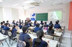[Photo] Học sinh dự lễ khai giảng đặc biệt tại Thủ đô Hà Nội