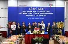 MobiFone và FPT 'bắt tay' hợp tác thúc đẩy chuyển đổi số quốc gia