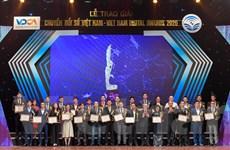 Vietnam Digital Awards 2020: Vinh danh gần 60 doanh nghiệp xuất sắc